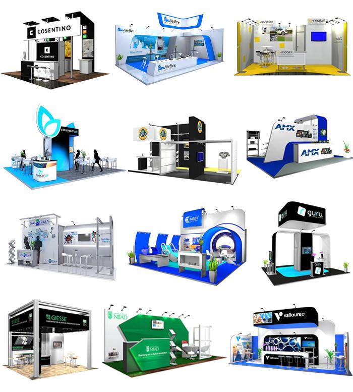 Modular Exhibition Stands Xl : Nomadic custom modular